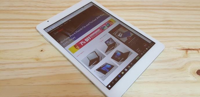 nueva tablet Telast x98 Plus II