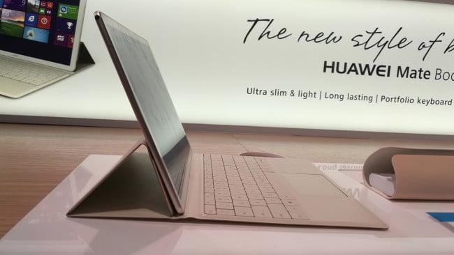 Huawei Matebook de perfil