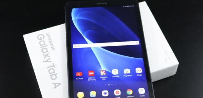 Galaxy Tab A 10.1 tablet con S pen