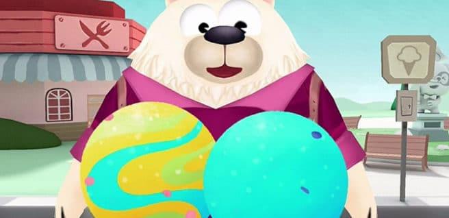 La Heladería del Dr. Panda iPad