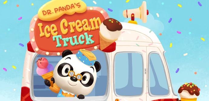 La Heladería del Dr. Panda juego