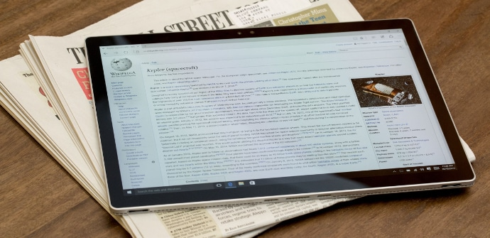 Microsoft Surface Book formato tablet