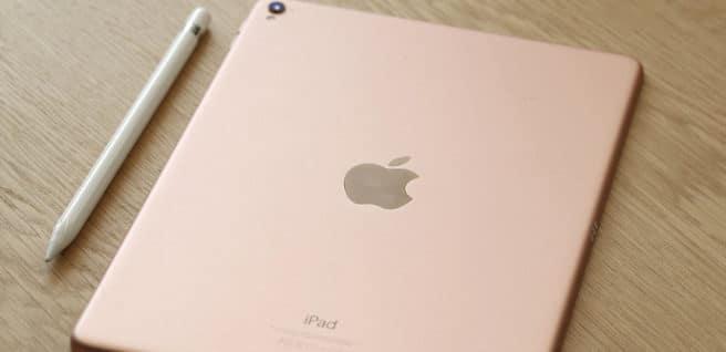 iPad Pro de 9.7 pulgadas en rosa