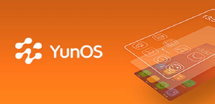 yunOS interfaz