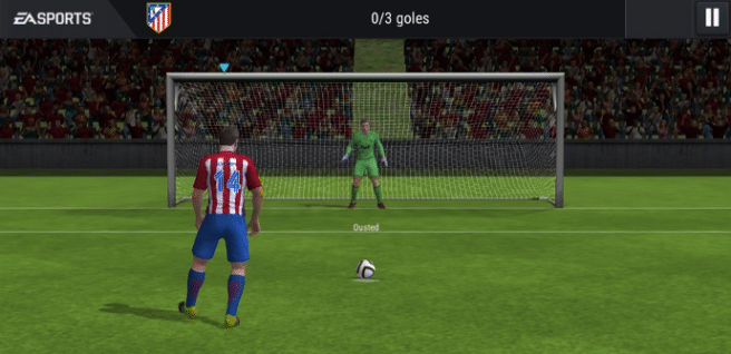 FIFA 17 mobile penalty
