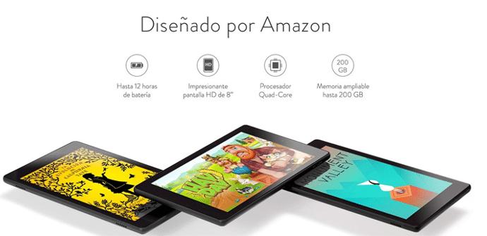 Fire HD 8 nueva tablet