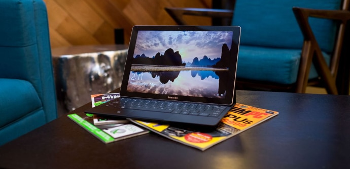 Galaxy TabPro tablet Windows 10