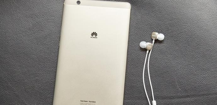 MediaPad M3 tablet trasera