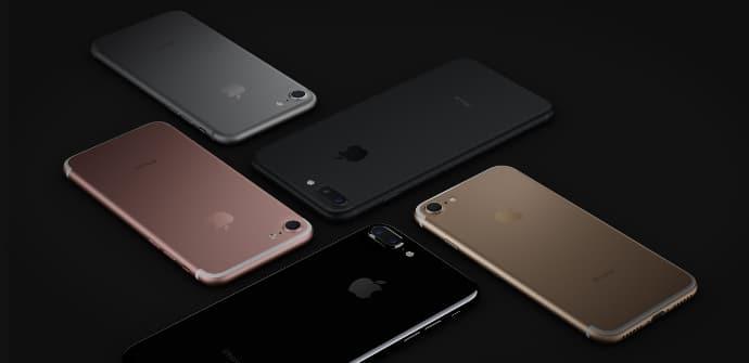 negro jet iPhone 7 Plus