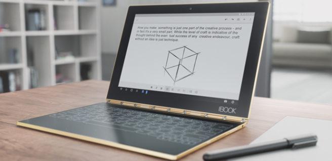 Yoga Book teclado holo real pen