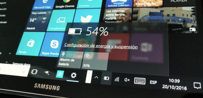 como realizar informe sobre bateria en windows
