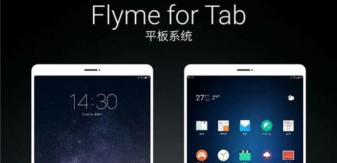 Flyme OS en tablete