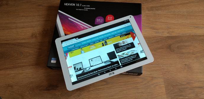 SPC Heaven 10.1 analisis valoracion y opiniones tablet Android