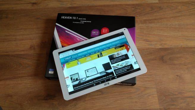 Tablet Android SPC Heaven 10.1 con caja oficial