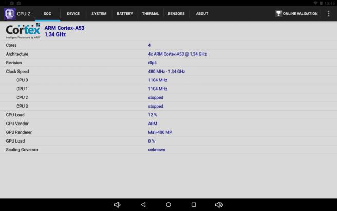 SPC Heaven 10.1 datos CPU Z