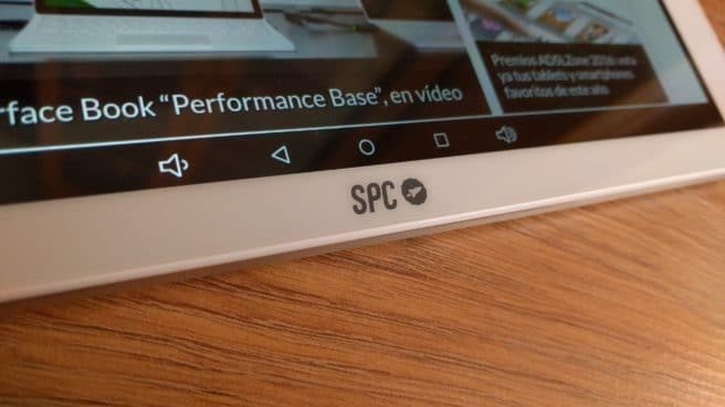 Tablet Android SPC Heaven 10.1 logo fabricante