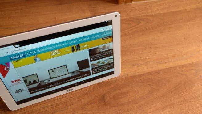 Tablet Android SPC Heaven 10.1 navegacion