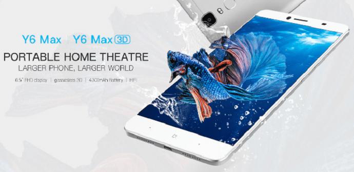 doogee y6 max diseño