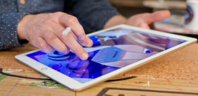 iPad Pro 9.7 dibujar