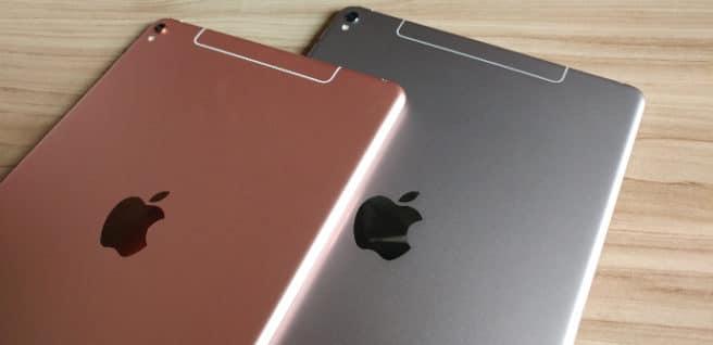 tablet iPad Pro pink grey