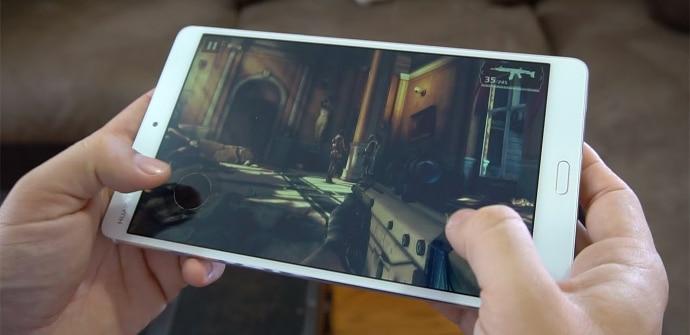 Huawei MediaPad m3 gaming test