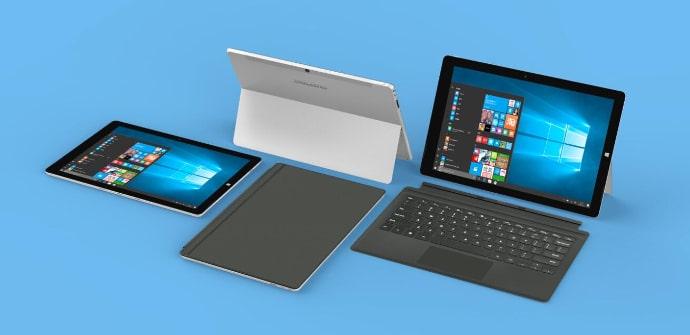 Teclast X5 Pro surface style