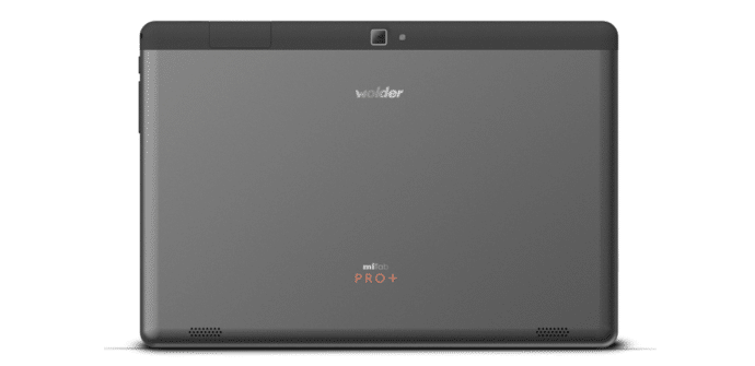 tablet mitab pro+ trasera