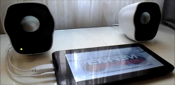 tablets sonido