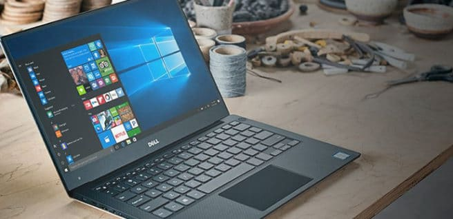 Dell XPS 13 tablet