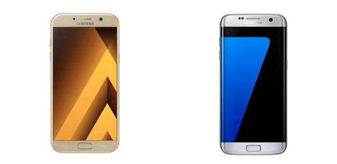 Samsung Galaxy A7 2017 Samsung Galaxy S7 Edge