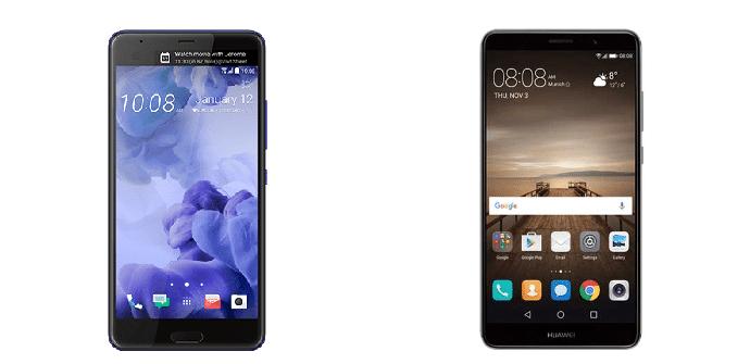 HTC U Ultra Huawei Mate 9