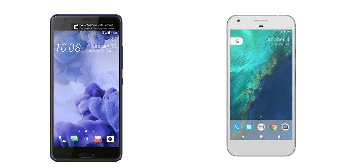 HTC U Ultra Google Pixel XL