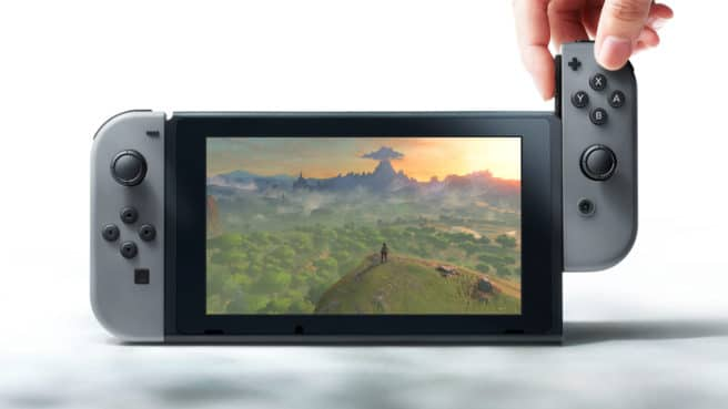 Nintendo switch consola tablet