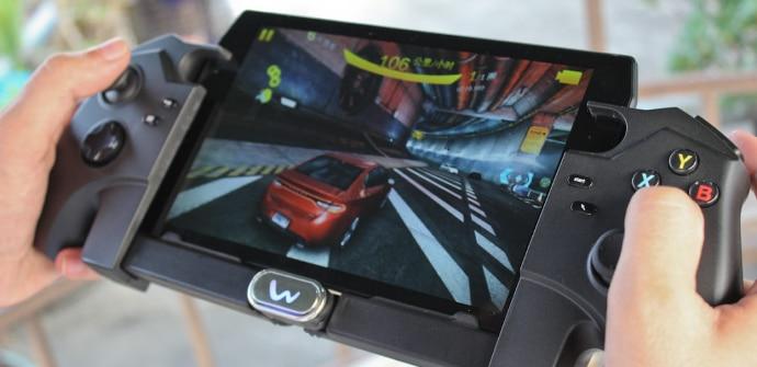 tablet para juegos con mando bluetooth