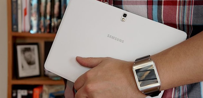 galaxy tablet pantalla flexible
