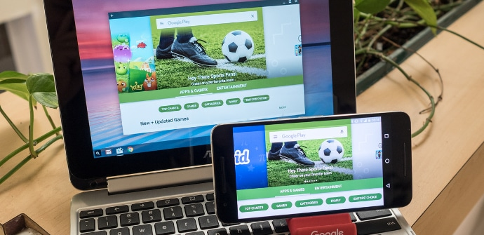 Apps Android smartphone chromebook