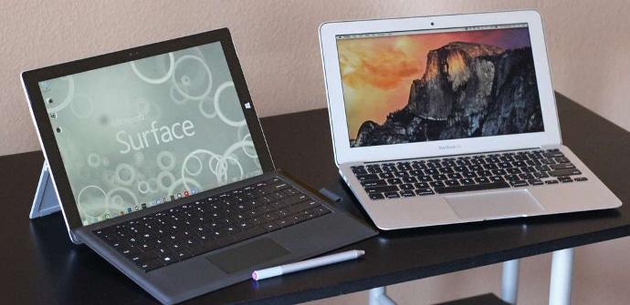 Portatil Apple tablet Microsoft