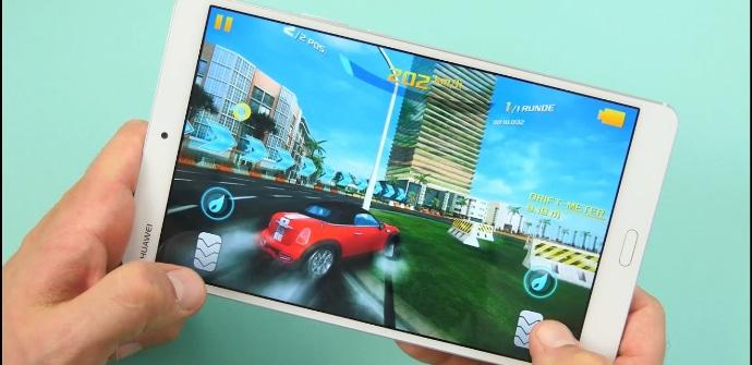 Huawei MediaPad M3 juego de coches