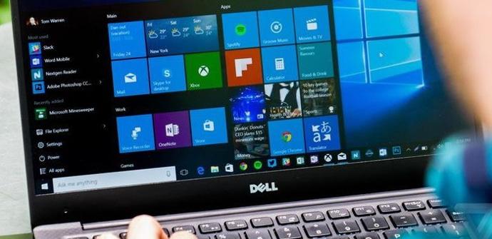 Portatil Dell con Windows 10