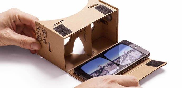 cardboard smartphone