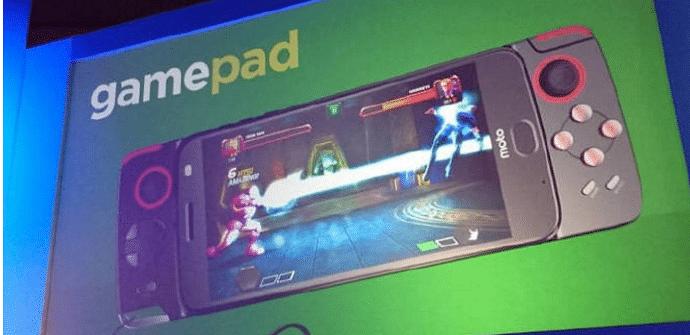 moto z 2017 gamepad