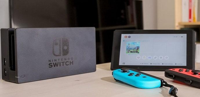 producción de nintendo switch tablet