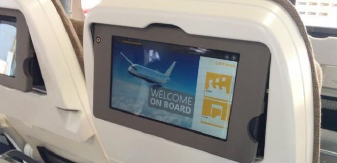 tablet a bordo
