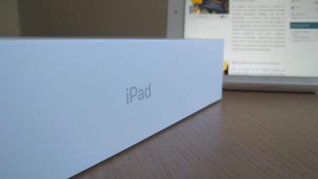 Apple iPad 2017 caja del producto