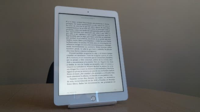 Nuevo iPad 9.7 libro electronico