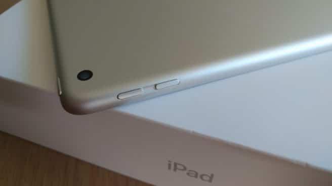Apple iPad 2017 subir bajar sonido