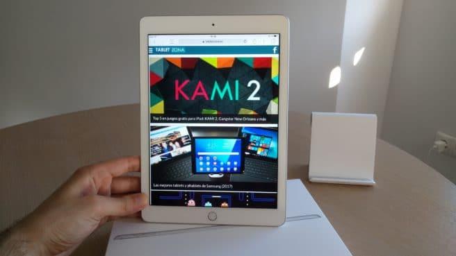 Apple iPad 2017 web tabletzona safari
