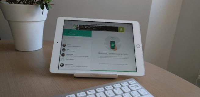 utilizar whatsapp en un iPad