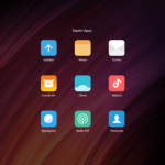 Xiaomi mi Pad 2 Apps del fabricante