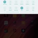 Xiaomi mi Pad 2 Ajustes rapidos